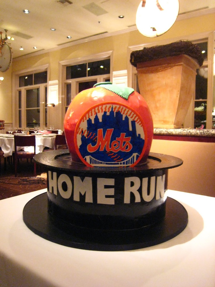 Mets Apple Cake Theme