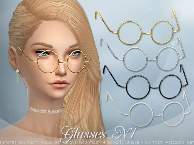 """I call these """"Science Glasses"""". The creator, KanoYa, calls them """"Glasses N1"""". I think we're both right."""