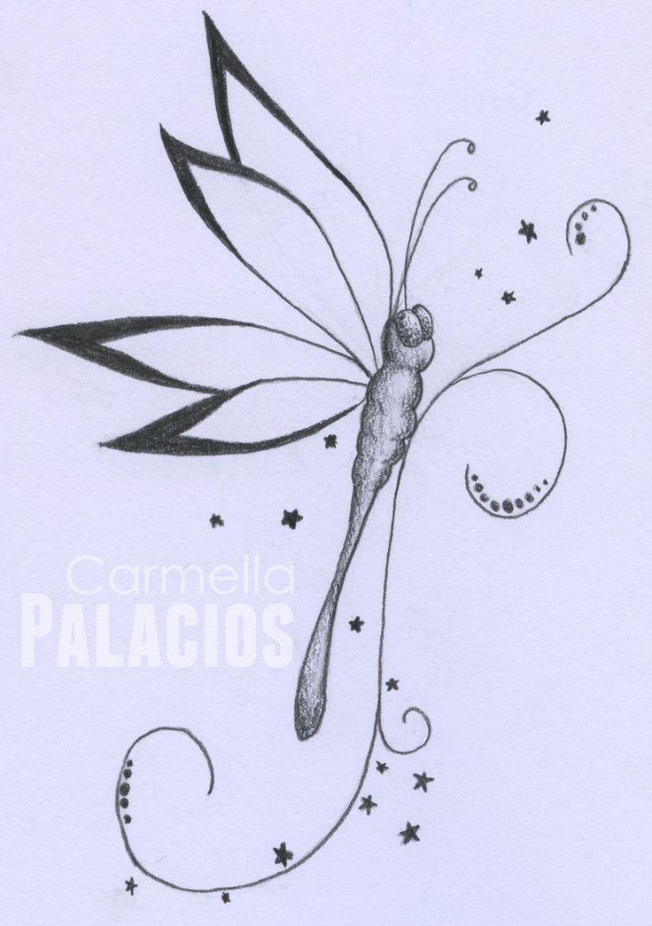 Dragonfly tattoo design by zzccarmen.deviantart.com on @deviantART