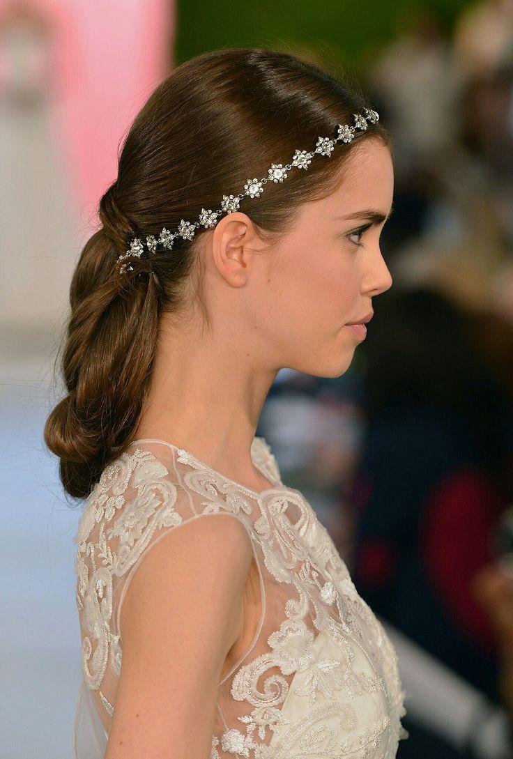 Bridal Headpiece by Oscar De La Renta