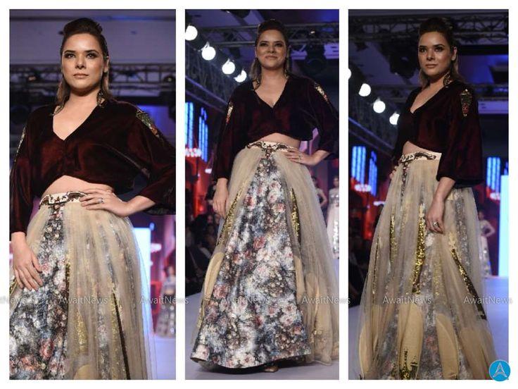 Udita Goswami Photos At Bombay Times Fashion Week 2017