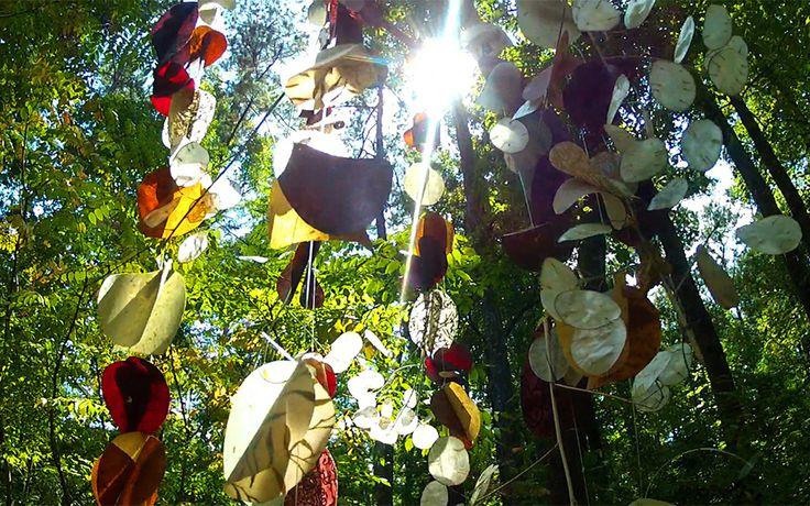 "Floating Gardens, ""Earth"" at Woodlands Garden"