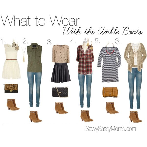 What to Wear with Ankle Boots by thelifeoftheparty on Polyvore featuring Madewell, Mela Loves London, Aéropostale, MANGO, VILA, River Island, Vero Moda, H&M, Sole Society and Forever 21