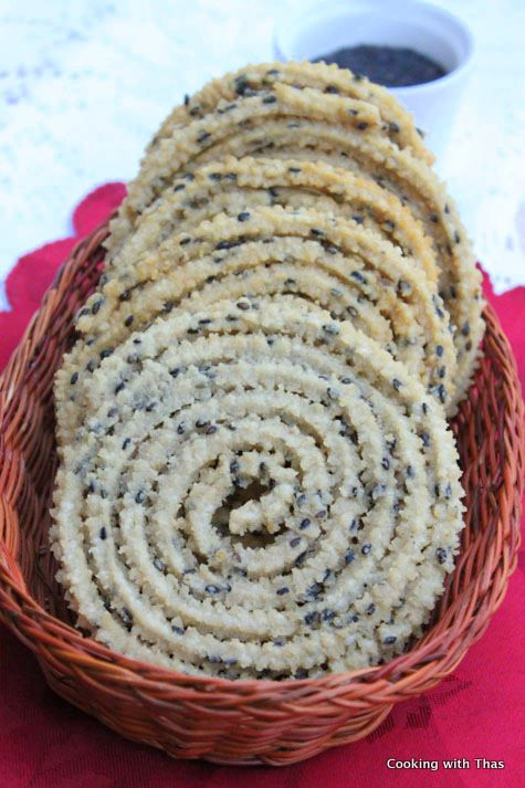 Murukku – Crispy South Indian Snack (Gluten Free)