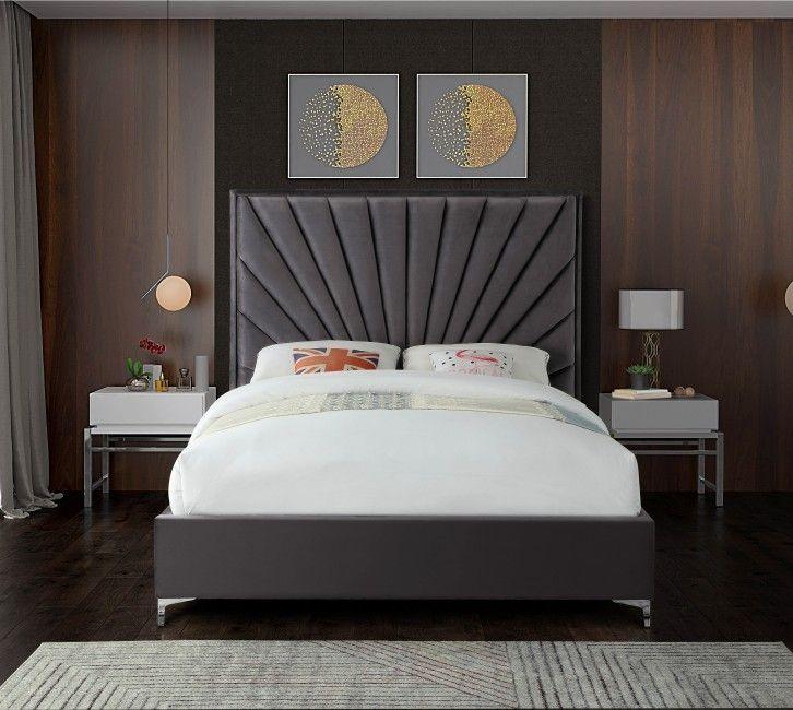 Upholstered Beds, Rebecca Upholstered Queen Platform Bed