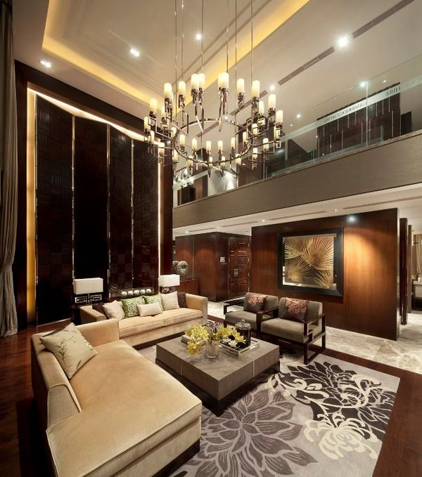Luxury House Interior Living Room: 30 Best Double Volume Design Images On Pinterest