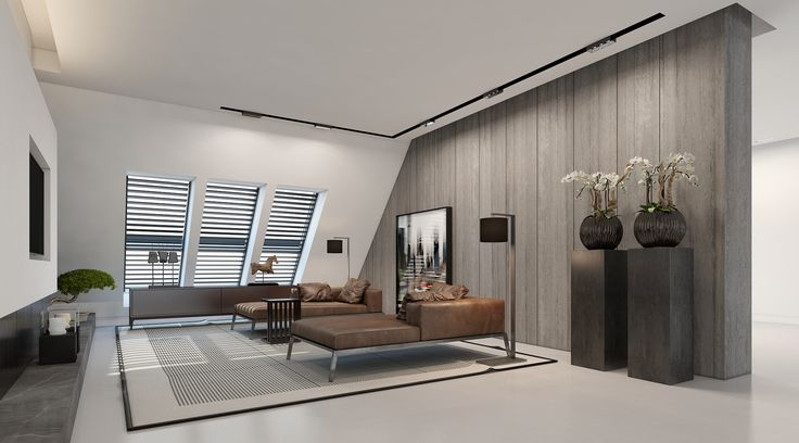 TV ROOM Residential design by Domestic-Design Visual by Ando Studio