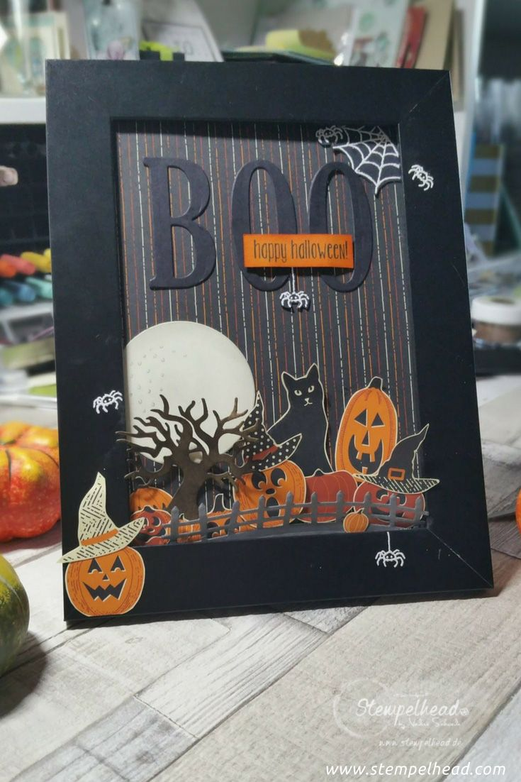 788 Best Cards Halloween Images On Pinterest Autumn Cards Fall