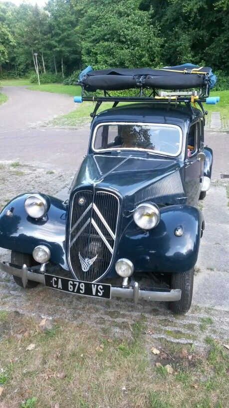 Citroën Traction Avant in Bourtange