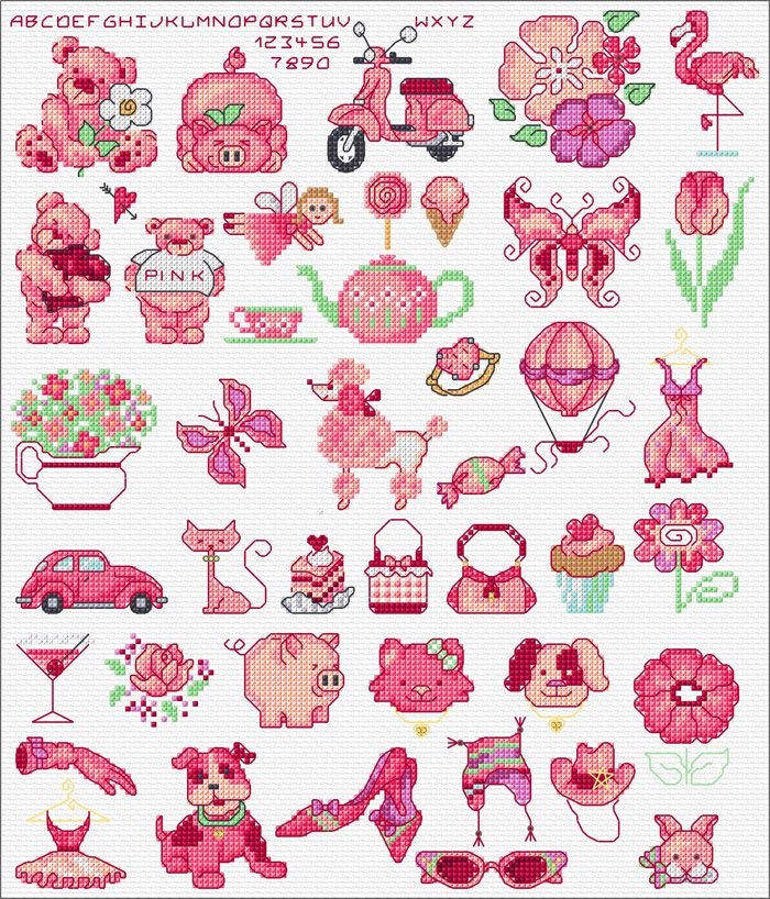 Maria Diaz Designs - Free Cross Stitch Charts