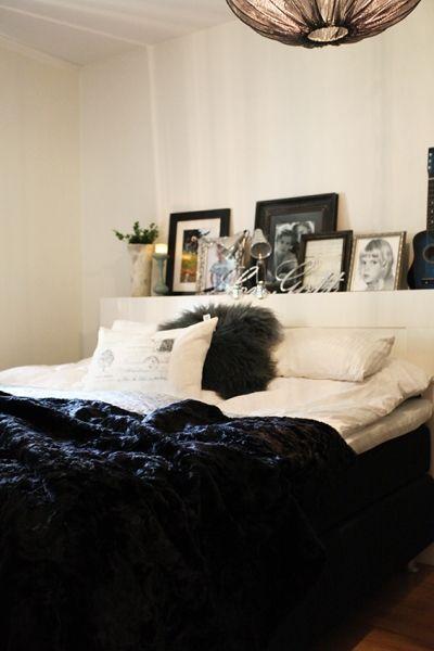 Monimo HOME Blanket Black/Black L 70,9 x57,1 in (180 x 145 cm)