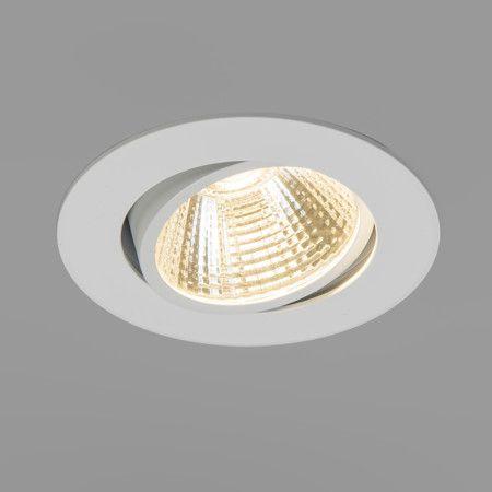 Einbaustrahler Swirl LED 5W 220V 3000K Schöner LED-Einbaustrahler aus Kunststoff mit Glas, schwenkbar. Es ist ein LED-Modul verbaut, wodurch der Strahler sehr effizient arbeitet. #LED Einbaustrahler #LED Deckenbeleuchtung