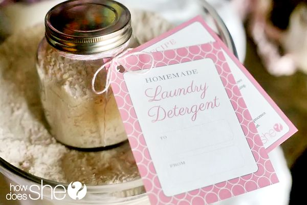 Free Printable Laundry Detergent Recipe And Gift Tag At