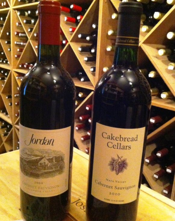 Jordan Cabernet Sauvignon, 2009, Sonoma County, California and Cakebread  Cellars, Cabernet Sauvignon