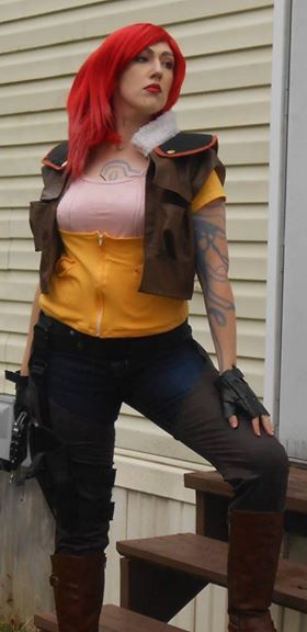 Hey, I found this really awesome Etsy listing at https://www.etsy.com/listing/209765745/lilith-borderlands-3-pc-costume-ensemble