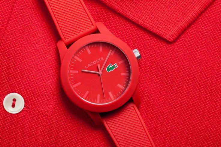 Lacoste'un yepyeni saat koleksiyonu Lacoste.12.12  #lacoste #lacostesaat #saat #watch #lacostewatch #fashion #style #stil #moda #kırmızı