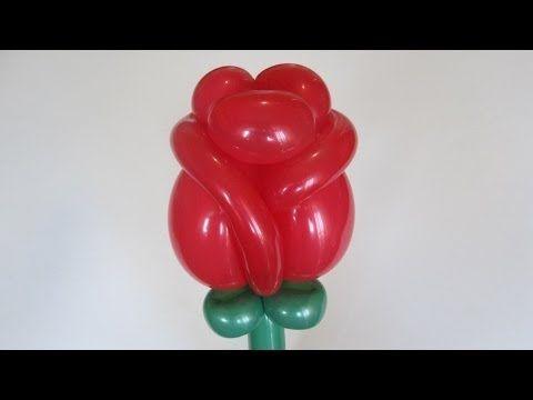 Роза из шаров / Rose balloon / 360 + 160