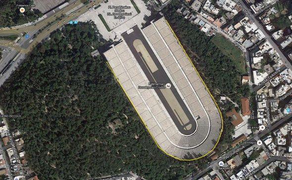Running Petal - Kallimarmaron Stadion Athens Greece #hellas #stadium http://www.runnermagazine.gr/proponhsh/kallimarmaro-route