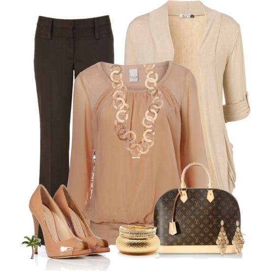 Office Wear Polyvore Style Fashion Pinterest To Be Fashion And Olivia D 39 Abo