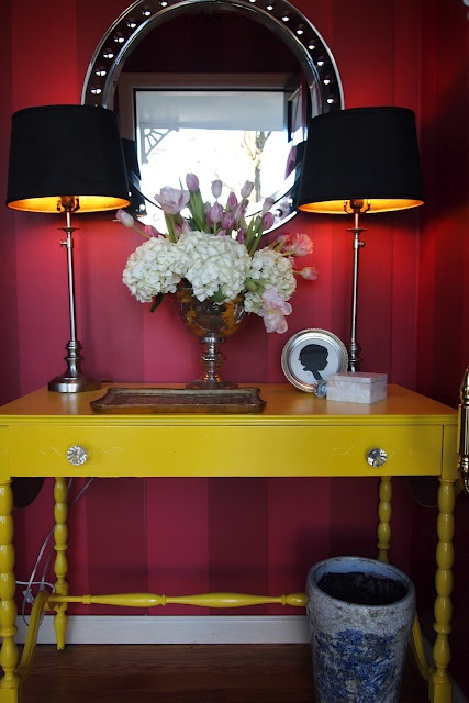 Yellow Foyer Table : Best yellow painted furniture ideas on pinterest