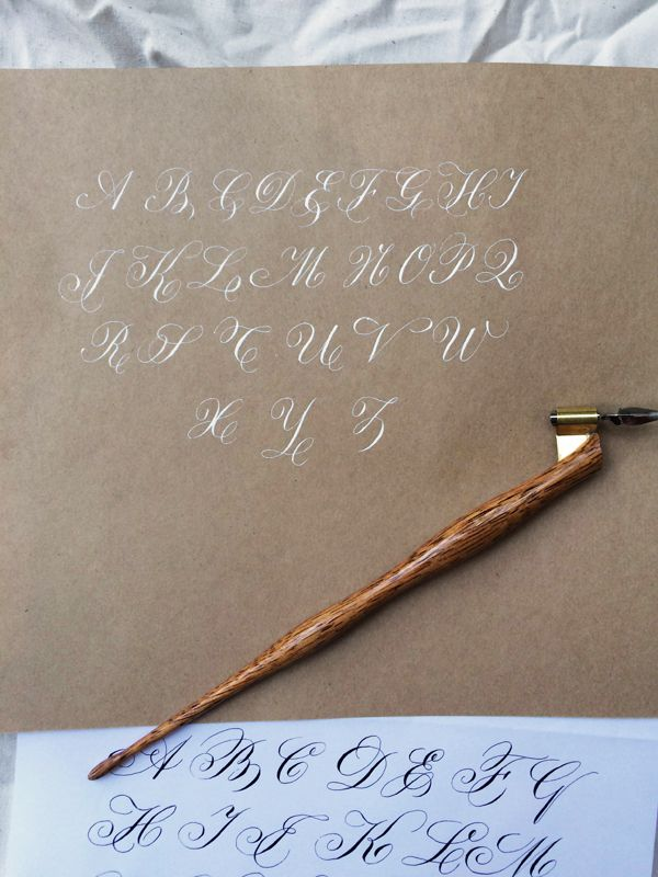 Copperplate Calligraphy Penmanship - The Next Level | OSNS