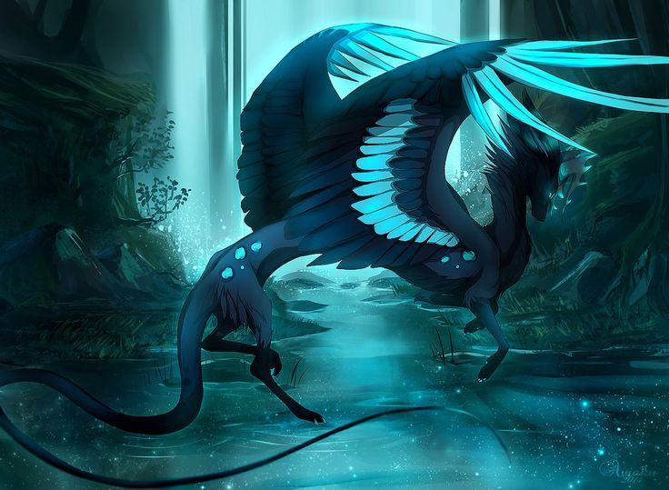 .:Shadow Dancer:. by Aviaku on DeviantArt Dragon Fantasy Myth Mythical Mystical Legend Dragons  Wings Sword Sorcery  Magic
