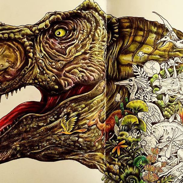 121 best images about adult colouring kerby rosanes on for Imagimorphia coloring pages
