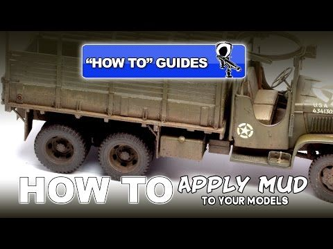 HOW TO GUIDE: APPLY MUD TO YOUR MODELS - Modelling Video - YouTube