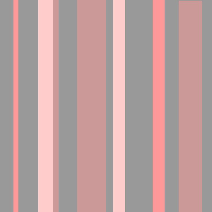 Wall paper pink and grey stripes