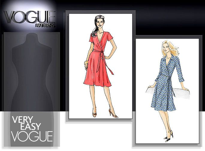 vogue 8379Sewing Pattern, Vogue Patterns, Pattern Categories, 12 Pattern, Purcha Sewing, Pattern Reviews, Wraps Dresses, Dresses Sewing, Reading Sewing