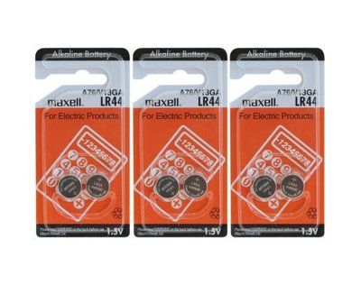FREE 6x or 2pc Maxell LR44 A76 V13GA Alkaline Button Cell Batteries and Artist Guitar Accessories -Delivered @ Catch - http://sleekdeals.co.nz/deals/2018/1/free-6x-or-2pc-maxell-lr44-a76-v13ga-alkaline-button-cell-batteries-and-artist-guitar-accessories-delivered-@-catch.aspx