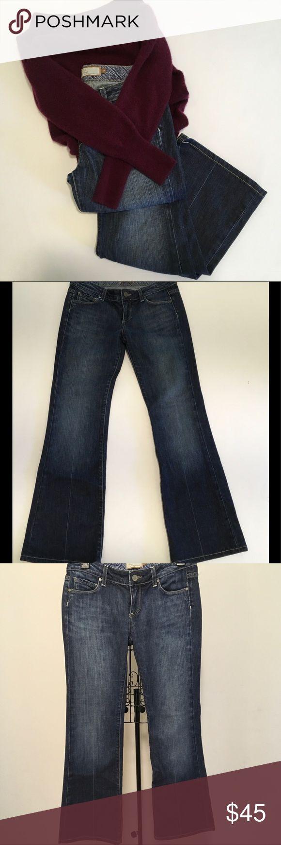 """🆕List! 💋Paige Premium Denim Jeans💋 Paige premium denim """"Laurel Canyon"""" jeans. low rise. boot cut. RN27002, CA51217, CUT201692, STYLE0102-0001, COLOR WC053. Inseam 29"""". Excellent condition. Paige Jeans Jeans Boot Cut"""