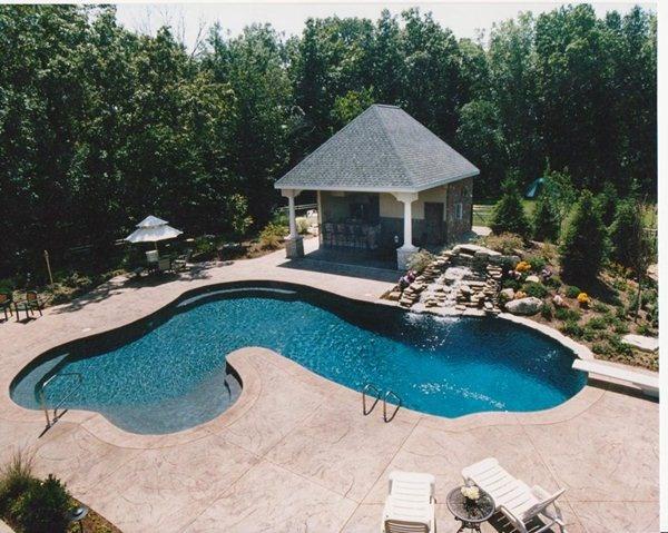 Prestige pools and spas gunite pool0017 pool party baby pinterest pools pool ideas - Gunite swimming pool designs ...