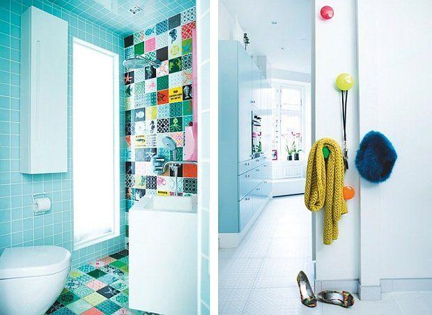 skandynawski styl, duński design, kolorowe mieszkanie