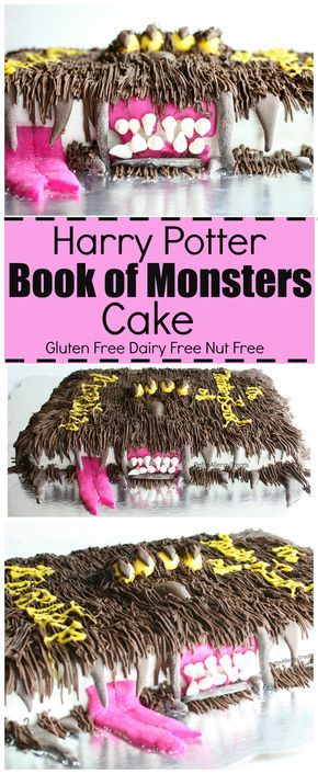 Gluten Free Harry Potter Book of Monsters CakeTiffany Benincosa-Bruderer