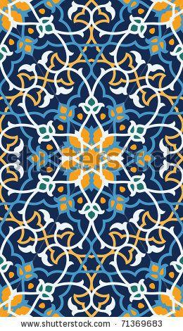Rasul Seamless Pattern by Azat1976, via Shutterstock