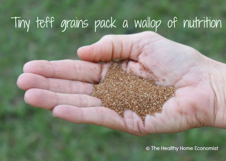 Teff is a tiny, gluten free, ancestral grain from Africa that packs a big punch when it comes to nutrition.  It makes an incredible breakfast porridge ... here's the how-to:   http://www.thehealthyhomeeconomist.com/gluten-free-teff-high-in-nutrition/