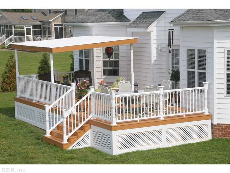 Covered Deck A Great Place For Relaxing Or Entertaining