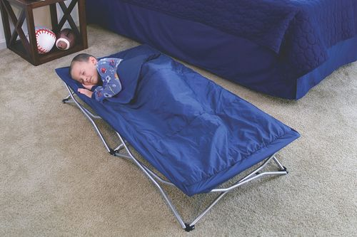 My Cot Portable Toddler Travel Bed with Sleeping Bag