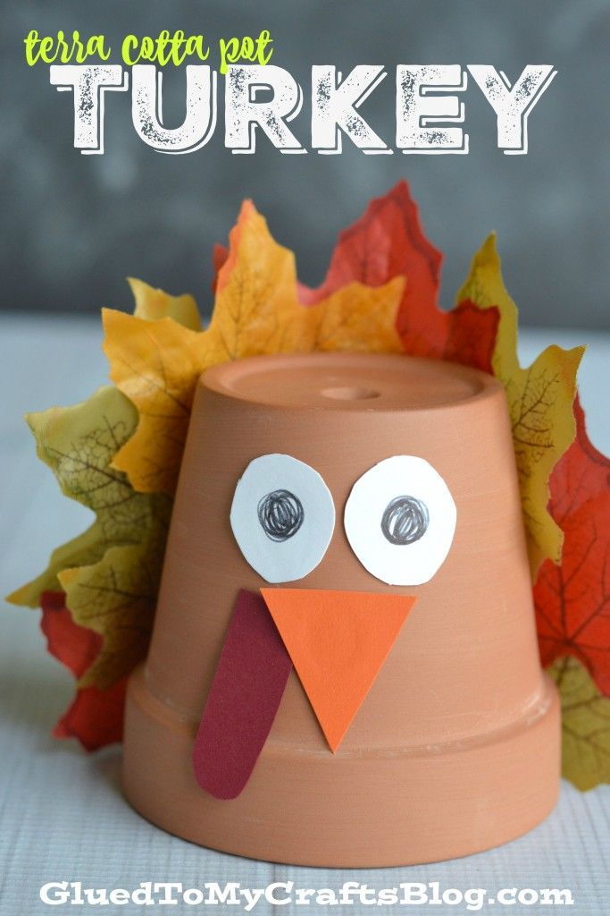 Best thanksgiving pot crafts images on pinterest clay
