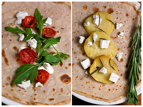 How To Make Buckwheat Crepes and Buckwheat Crepes with Roasted Vegetables