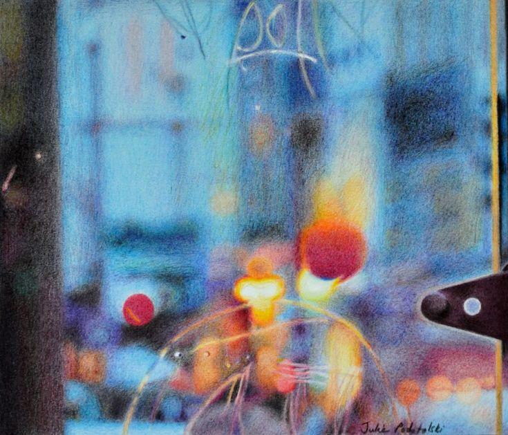 Bus Stop by Julie Podstolski