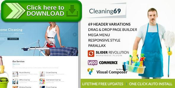 [ThemeForest]Free nulled download Cleaning69 - WordPress theme for House Cleaning Company from http://zippyfile.download/f.php?id=6571 Tags: carpenter, cleaner, cleaning, cleaning company, electrician, engineering, handy man, handyman, house cleaning, maintenance, plumber, plumbing, remodeling, renovation