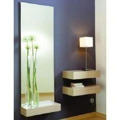 moderno mueble recibidor envìo e instalaciòn gratis