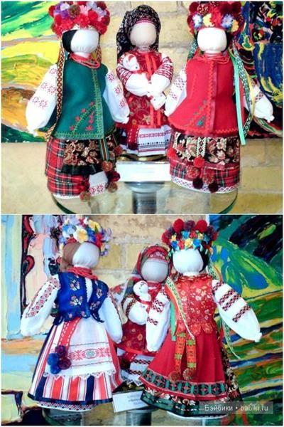 Украинские народные костюмы своими руками