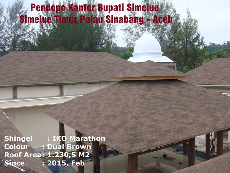 IKO Marathon 20 - Dual Brown, Pendopo Kantor Bupati Simelue, Aceh. 1230.5 M2 (Feb-2015)