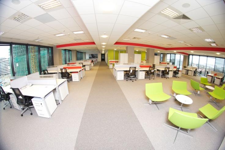 oracle krakow offices interiors pinterest