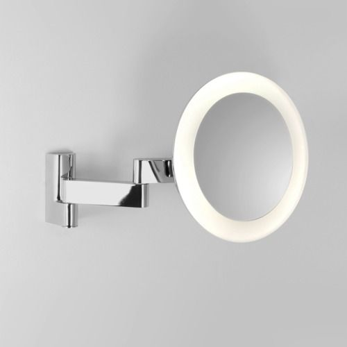 Niimi rund LED sminkspegel med belysning från Astro hos ConfidentLiving.se