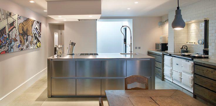 """Agahuis; AGA""""s passen ook in moderne keukens...."""