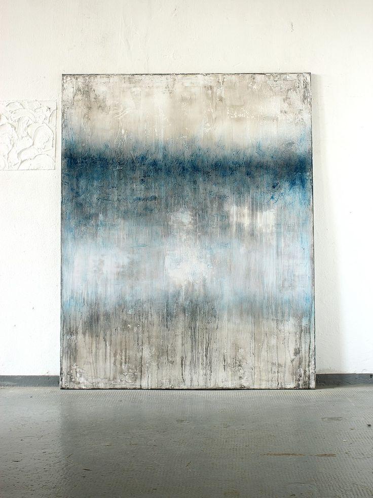 CHRISTIAN HETZEL. Blue white glimmering -2016-